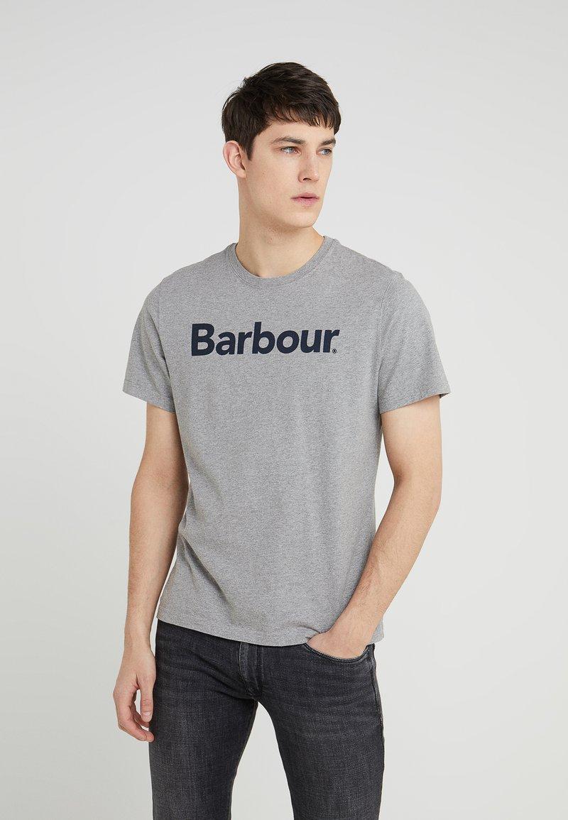 Barbour - LOGO TEE - T-shirt print - grey marl