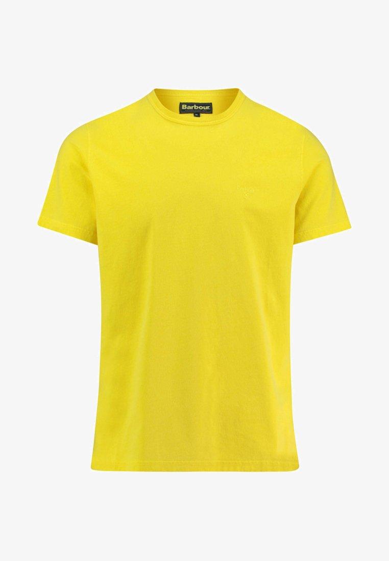 Barbour - T-Shirt basic - yellow