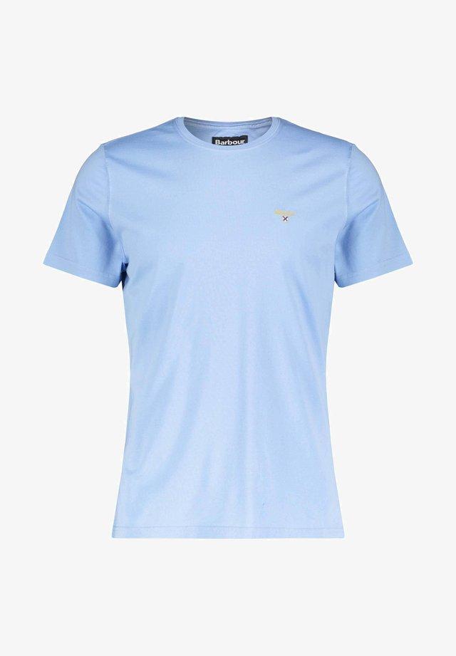 BARBOUR HERREN T-SHIRT - Basic T-shirt - bleu (50)