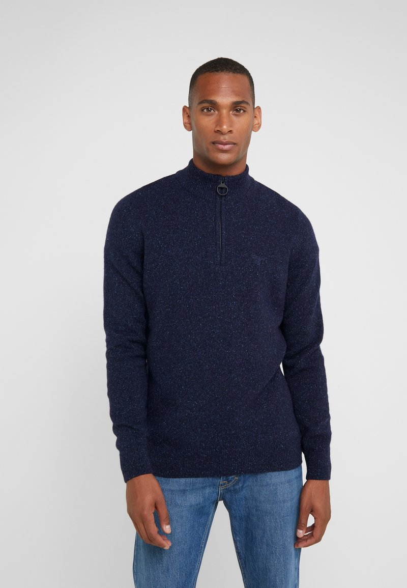 Barbour - TISBURY HALF ZIP - Strickpullover - navy