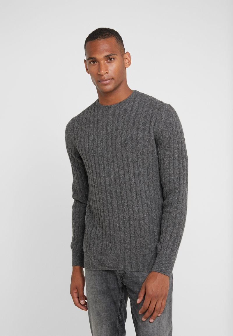 Barbour - ESSENTIAL CABLE CREW - Jumper - grey