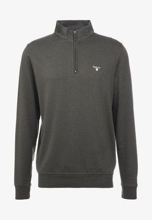 BATTEN HALF ZIP - Sweatshirt - olive
