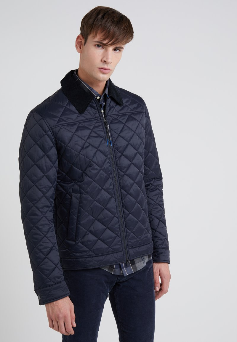 Barbour - TROUGH QUILT - Übergangsjacke - navy