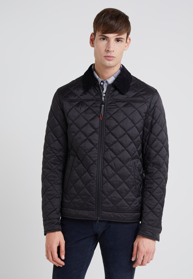 Barbour - TROUGH QUILT - Light jacket - black