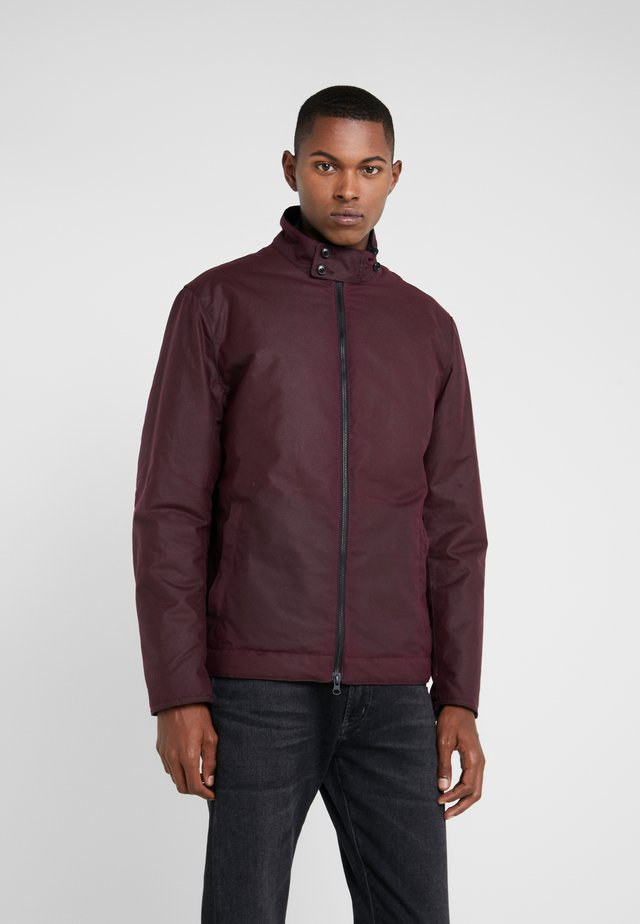 BARNBY WAX - Light jacket - merlot