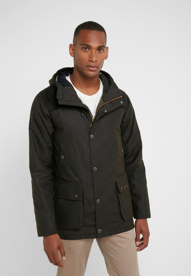 LOUTH - Parka - olive