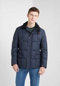 Barbour - YAXLEY QUILT - Winter jacket - navy - 0