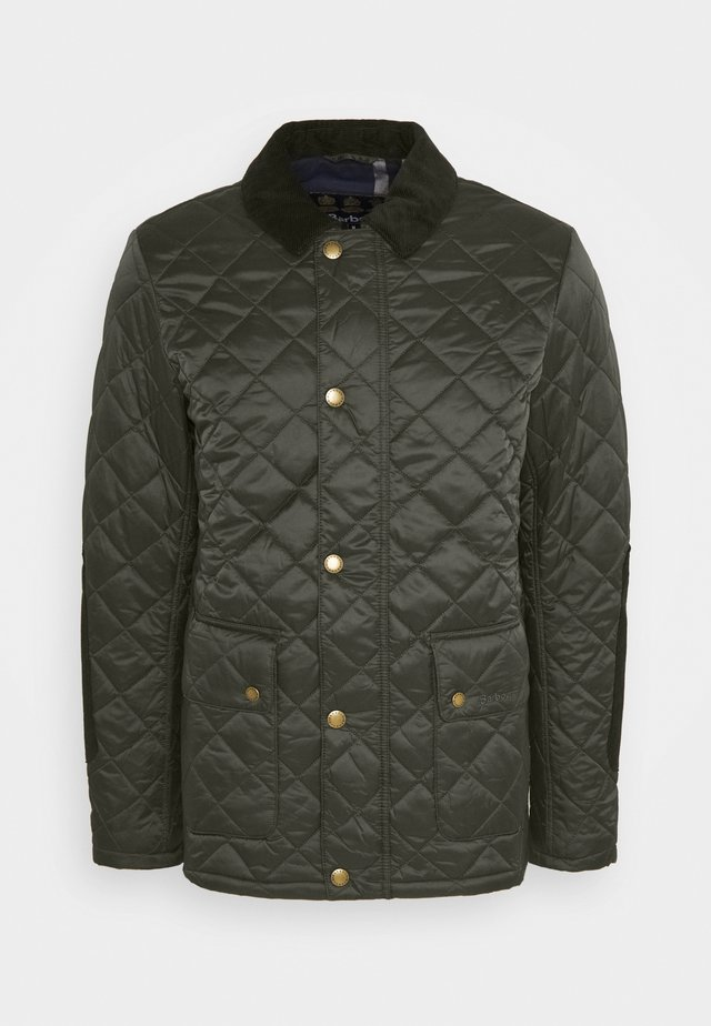 DIGGLE QUILT - Jas - olive/seaweed
