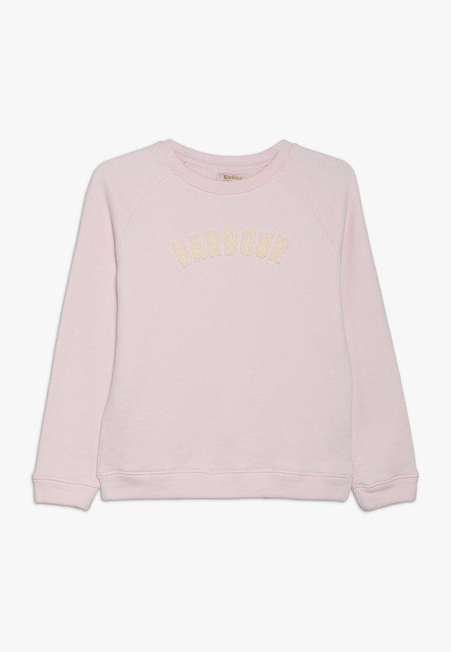 GIRLS CLAIR OVERLAYER - Sweatshirt - rose