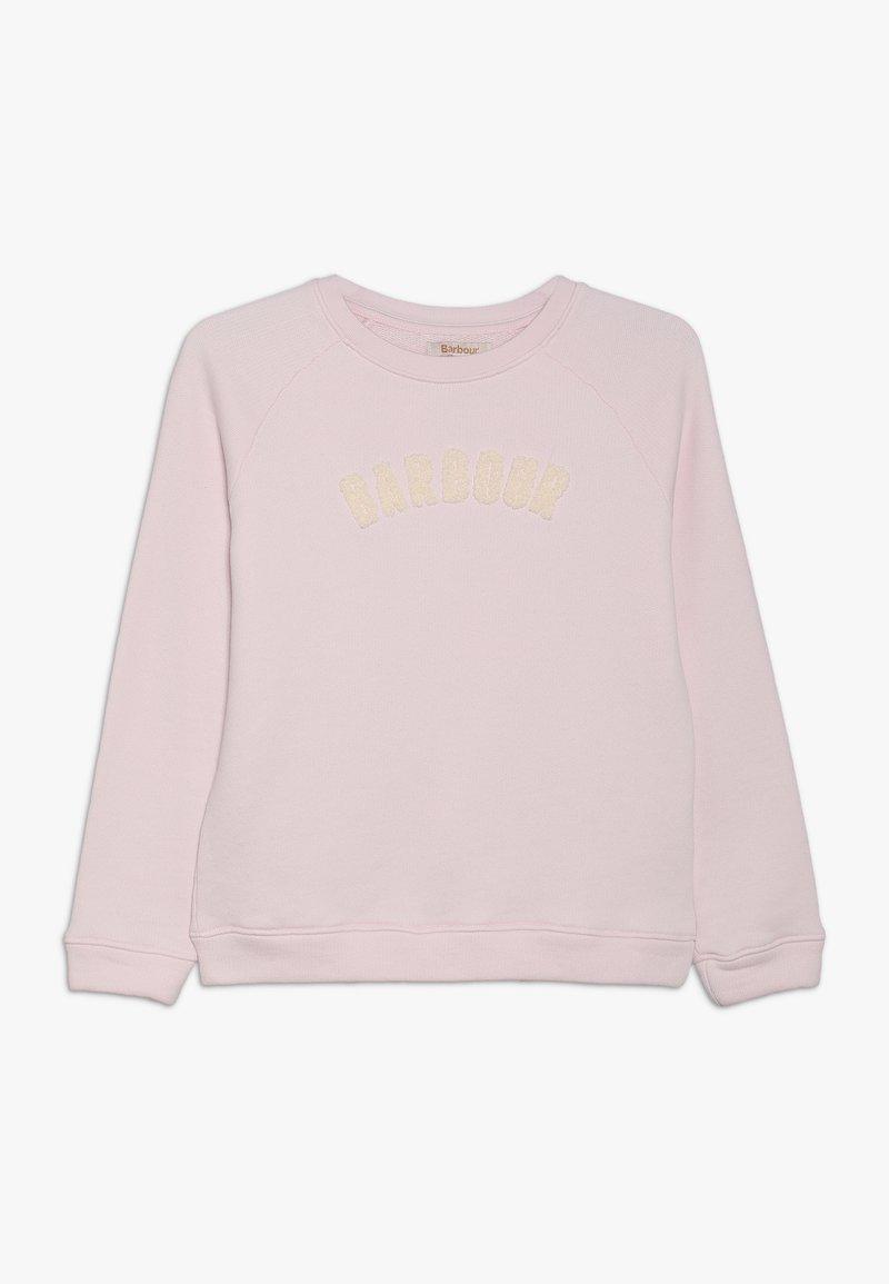 Barbour - GIRLS CLAIR OVERLAYER - Sweatshirt - rose