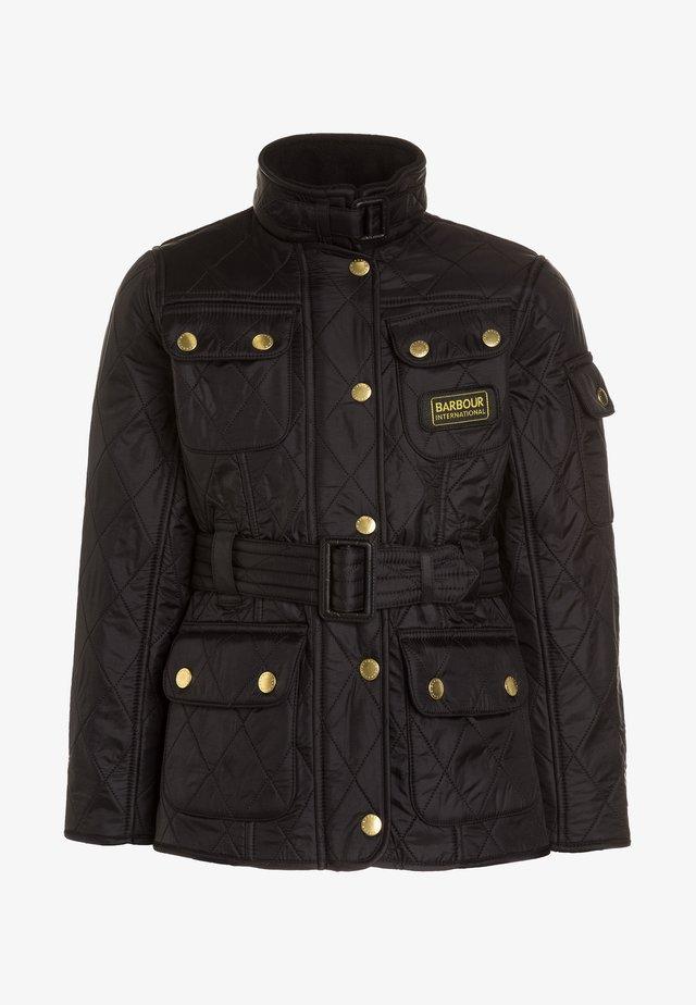 INTERNATIONAL QUILT - Winter jacket - black