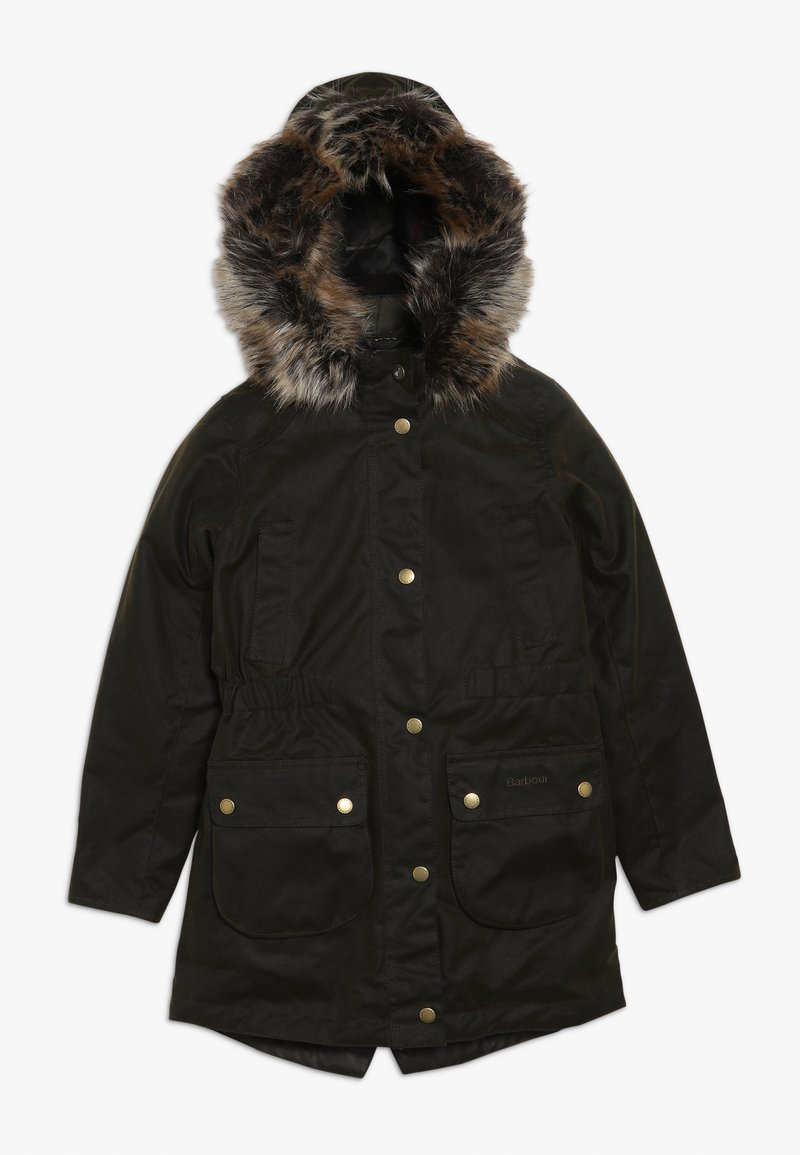 Barbour - GIRLS THRUNTON WAX - Parka - olive/classic