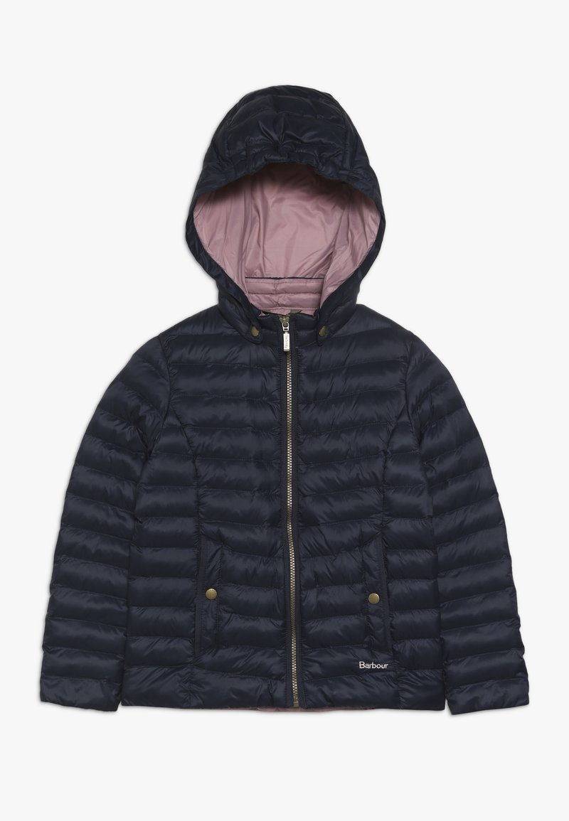 Barbour - GIRLS HIGHGATE QUILT - Winterjas - navy/rose bay
