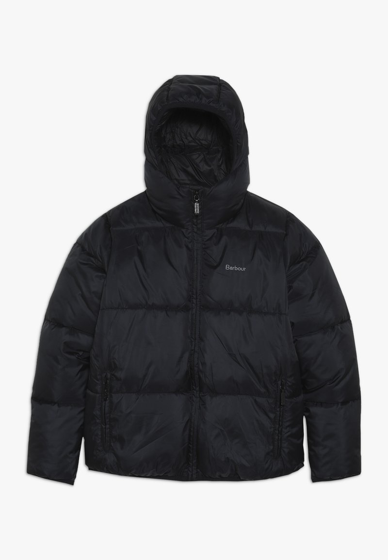 Barbour - BOYS ROSS QUILT - Winter jacket - black