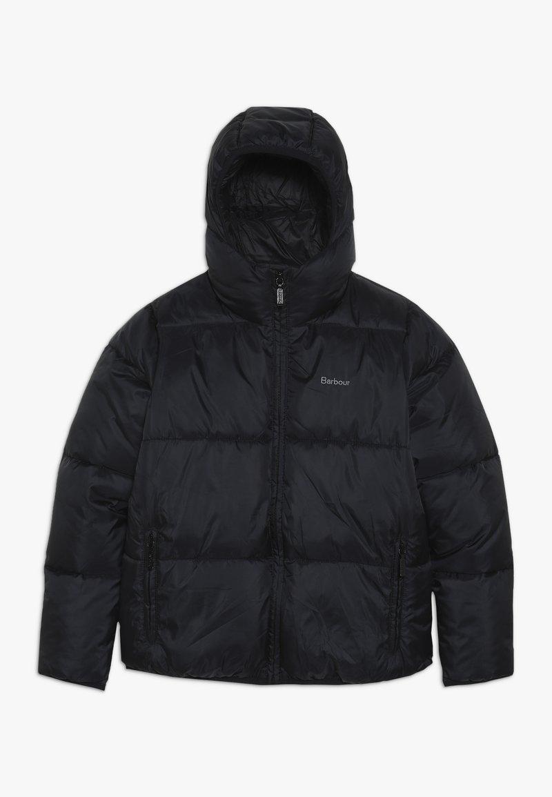 Barbour - BOYS ROSS QUILT - Winter jacket - black
