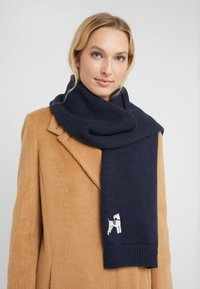 Barbour - ANIMAL SCARF - Scarf - navy - 1