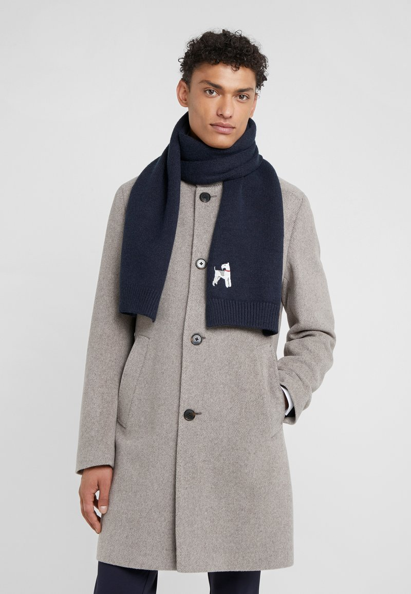 Barbour - ANIMAL SCARF - Scarf - navy