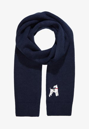 ANIMAL SCARF - Sjaal - navy