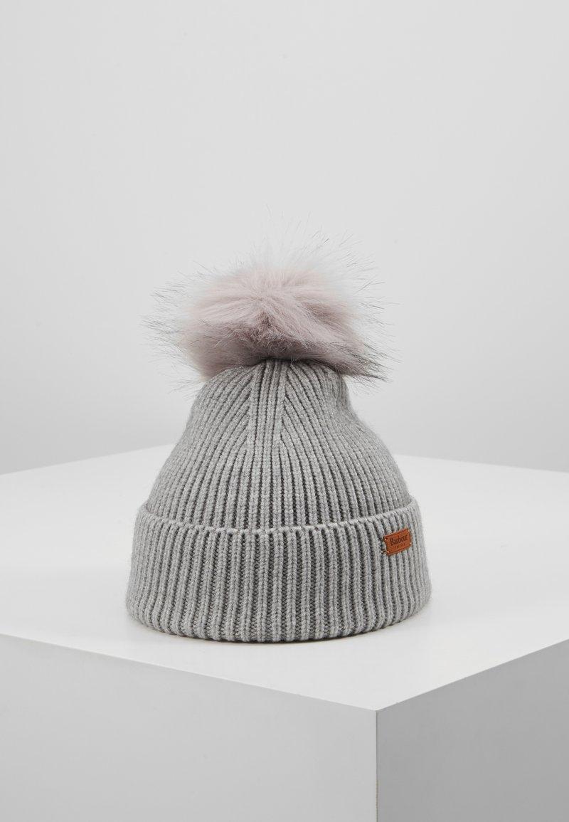 Barbour - DOVER POM - Mütze - grey