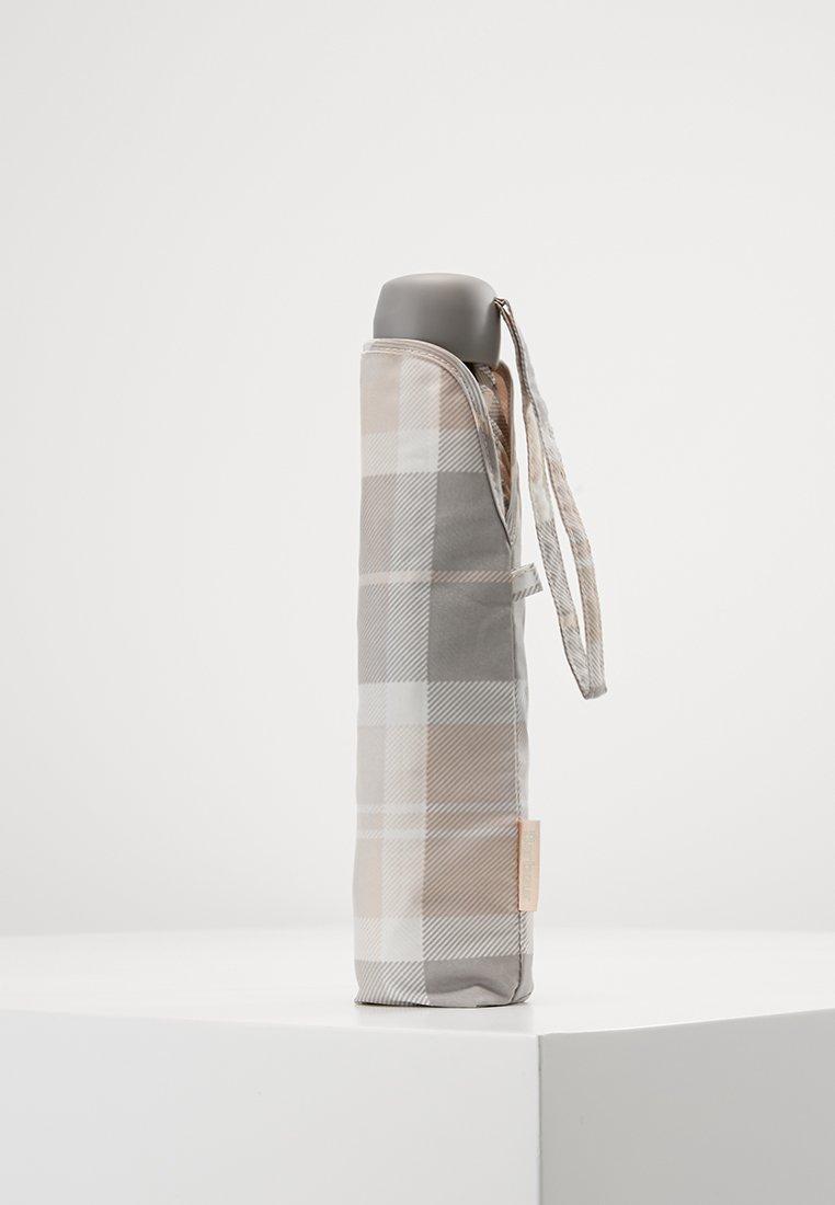 Barbour - PORTREE UMBRELLA - Schirm - pink/grey tartan