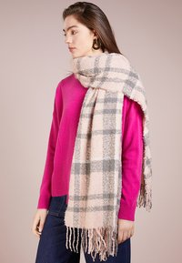 Barbour - TARTAN SCARF - Schal - pink/grey - 0