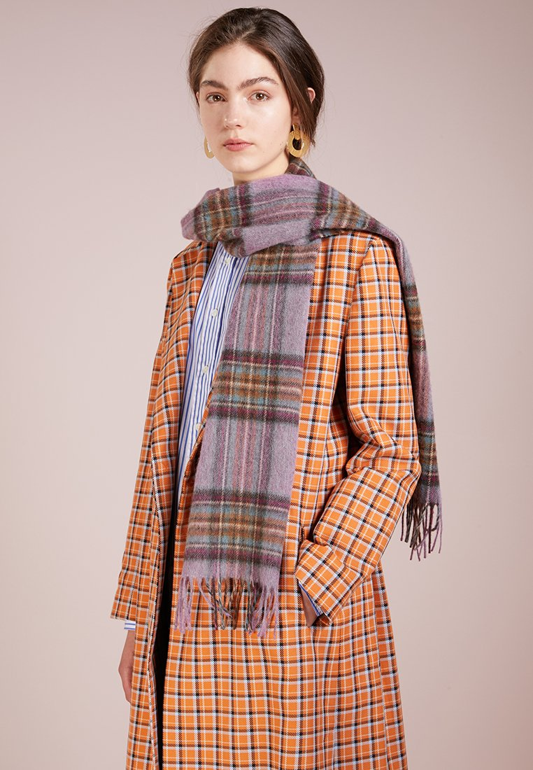 Barbour - COUNTRY CHECK - Szal - pink