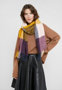 Barbour - SCARF - Schal - golden yellow mix - 0