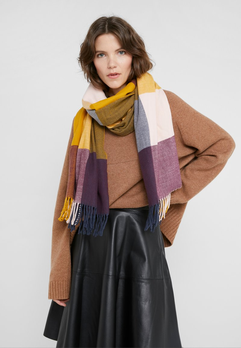 Barbour - SCARF - Schal - golden yellow mix