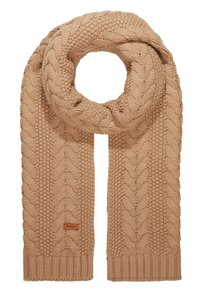 Barbour - CABLE HAT SCARF SET - Scarf - mink - 3