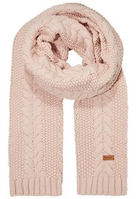 Barbour - CABLE HAT SCARF SET - Scarf - pink - 3
