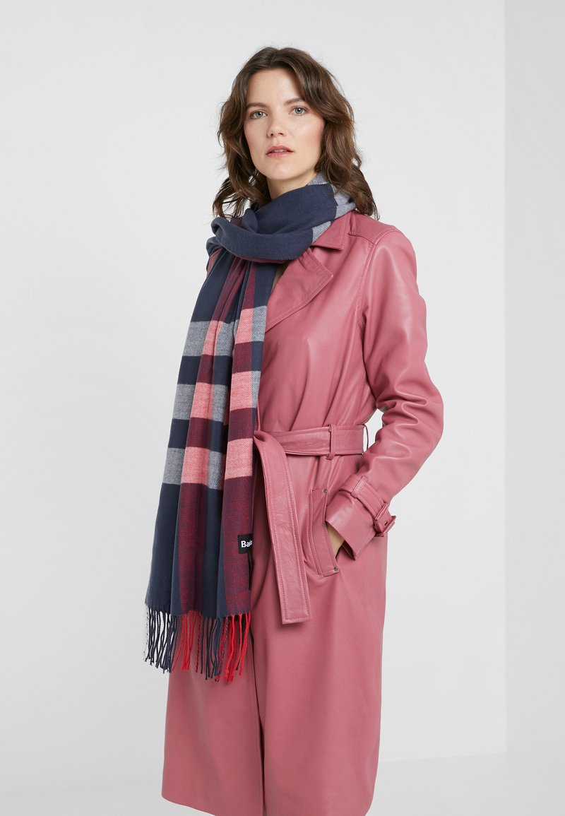 Barbour - SKYE - Scarf - navy/red