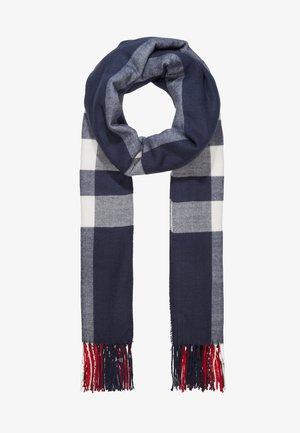 SKYE - Scarf - navy/red