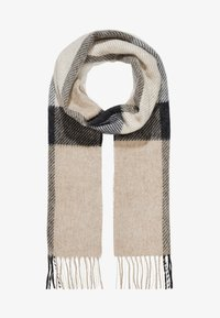 Barbour - HAMBLE CHECK SCARF - Scarf - neutral - 1