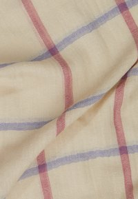 Barbour - COUNTRY WINDOWPANE WRAP - Šála - sand dune - 1