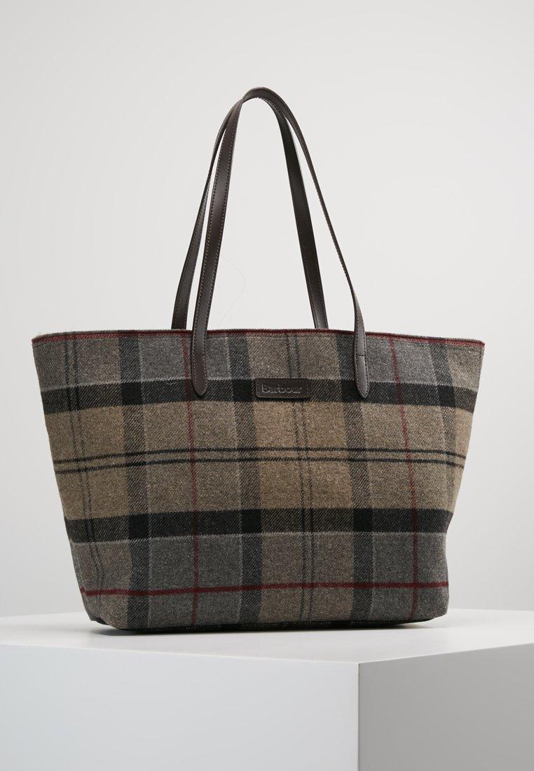 Barbour - WITFORD TARTAN TOTE - Shopping Bag - winter
