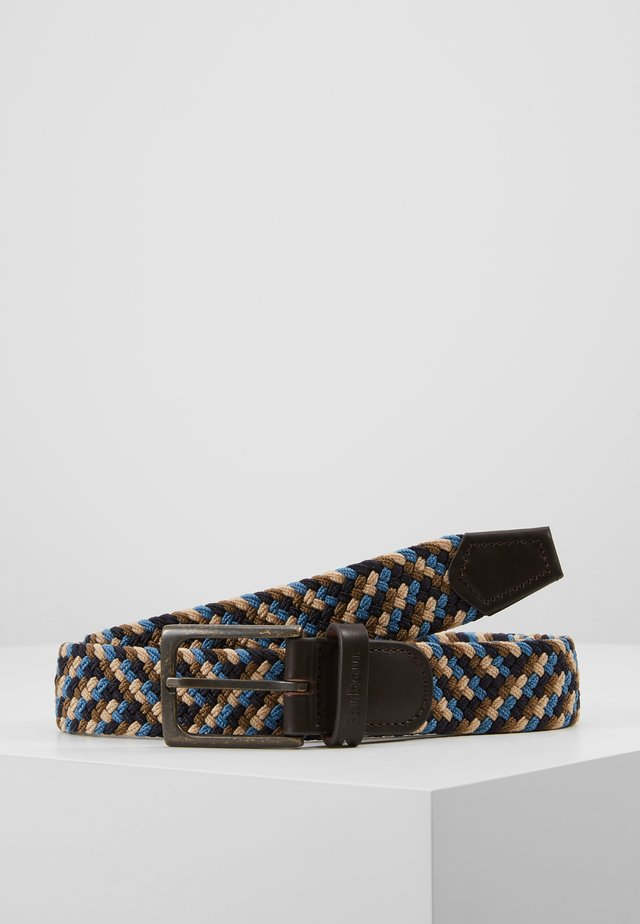 FORD BELT - Cintura - blue/navy/stone