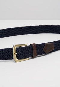 Barbour - WEBBING BELT - Belt - navy - 4
