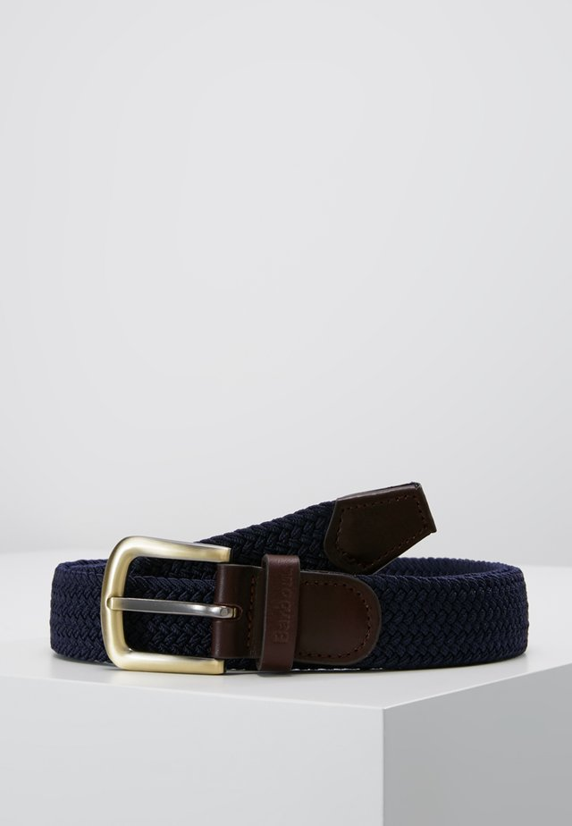 WEBBING BELT - Riem - navy