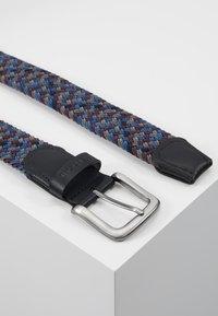 Barbour - TARTAN BELT GIFT BOX - Riem - dark blue/brown - 2