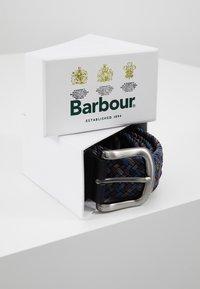 Barbour - TARTAN BELT GIFT BOX - Riem - dark blue/brown - 5