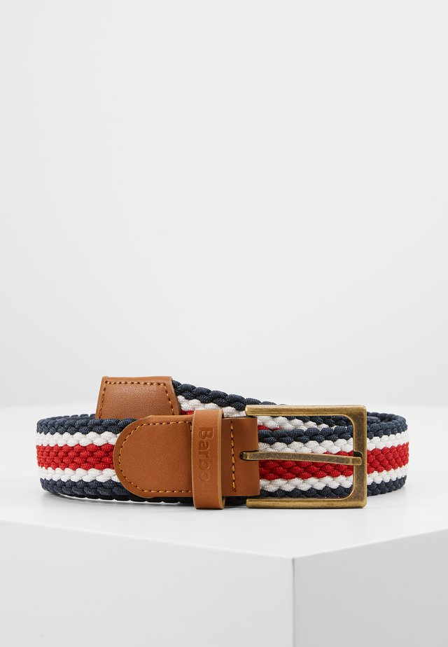 STRIPED FORD BELT - Riem - red/navy/white