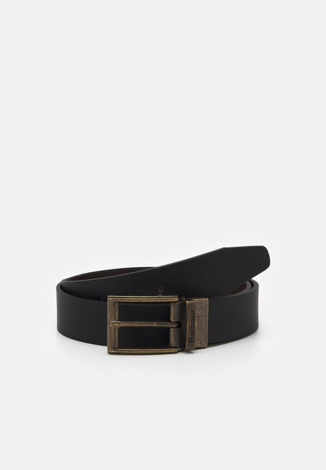 REVERSIBLE BELT GIFT BOX - Riem - black