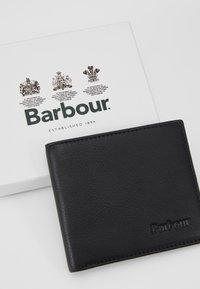 Barbour - BILLFOLD WALLET - Peněženka - black/merlot/shadow - 8