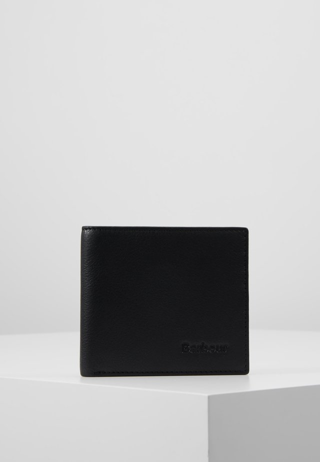 BILLFOLD WALLET - Portemonnee - black/merlot/shadow