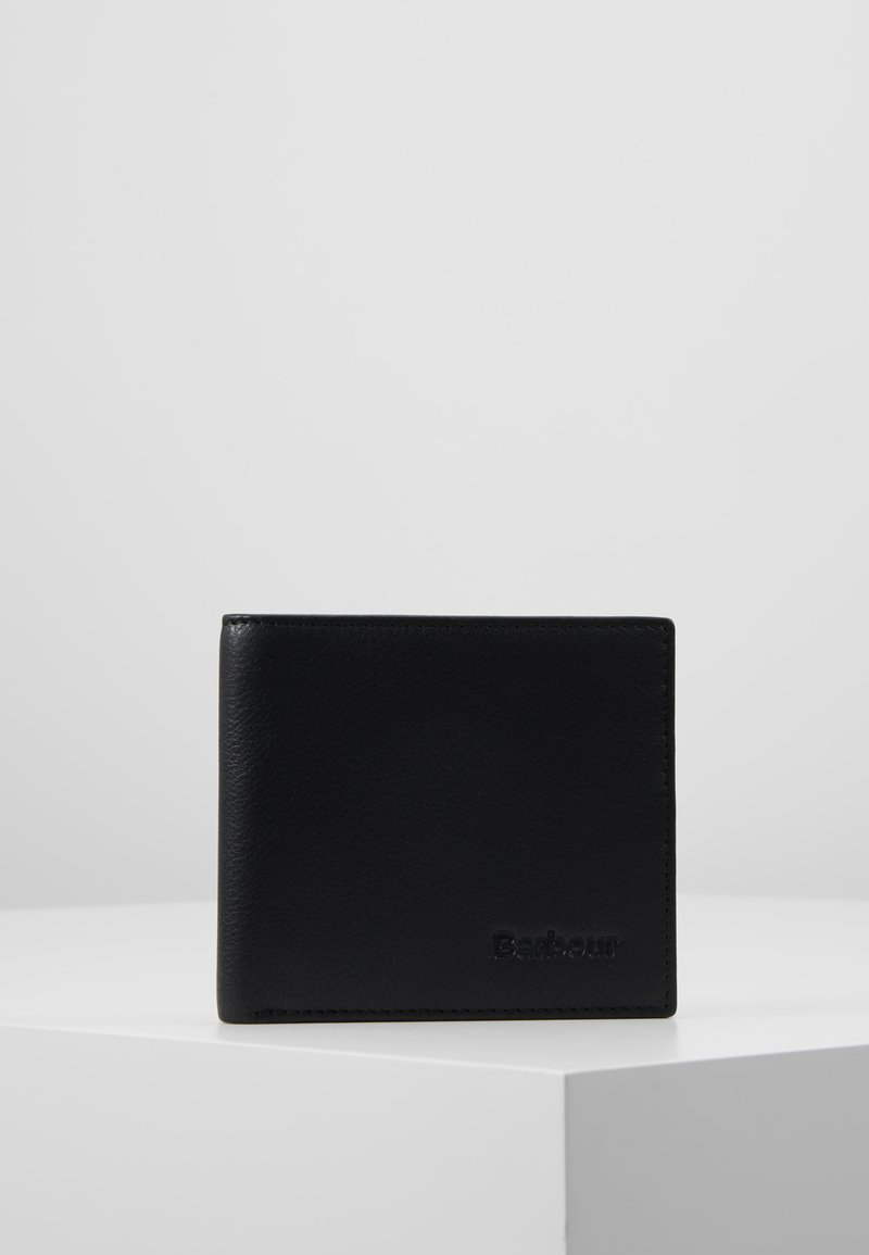 Barbour - BILLFOLD WALLET - Wallet - black/merlot/shadow