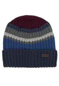 Barbour - STRIPE BEANIE SCARF SET - Scarf - navy - 4