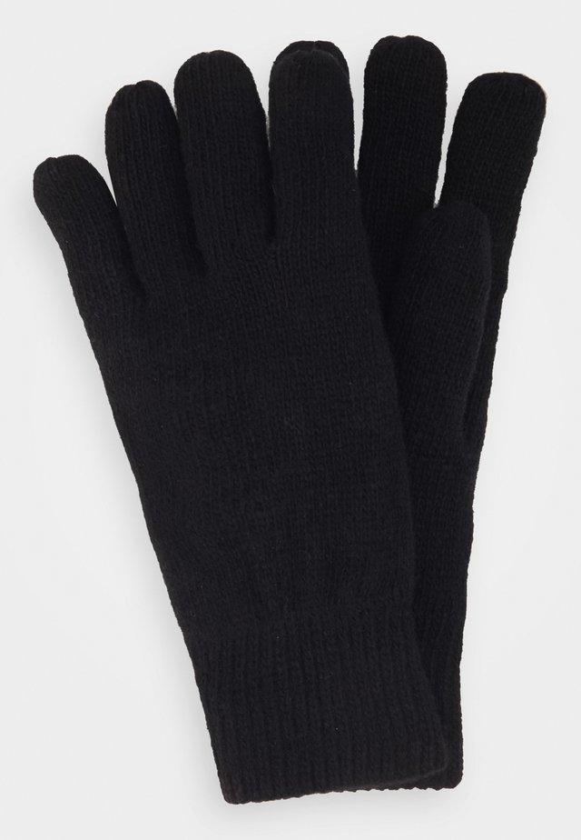 CARLTON GLOVES - Fingerhandschuh - black