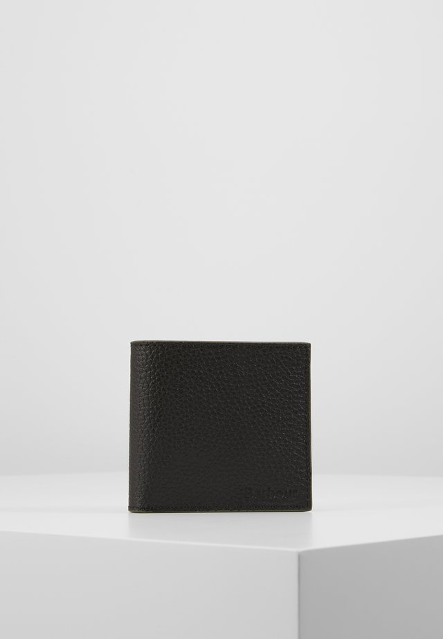 GRAIN  WALLET - Portemonnee - black