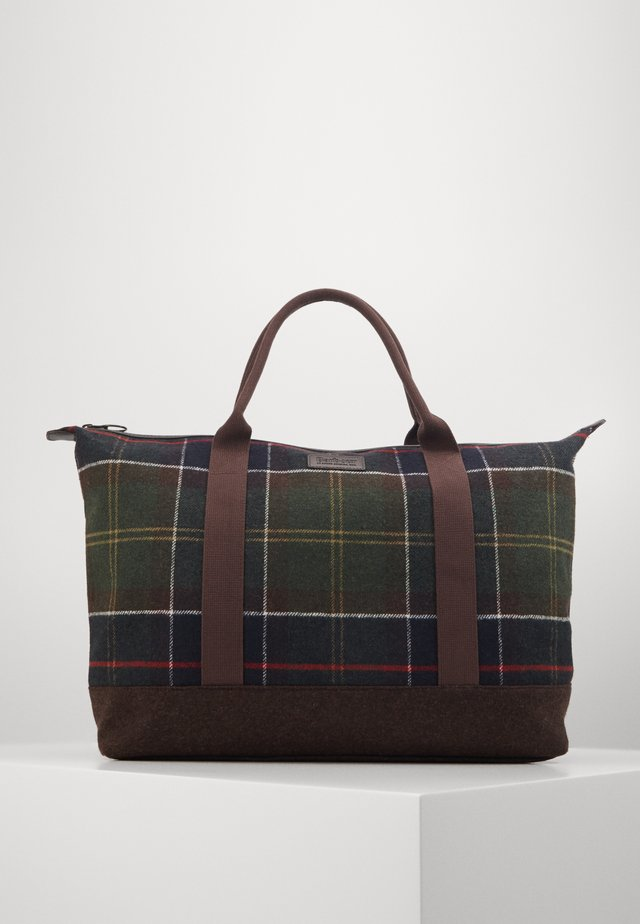 ELGIN HOLDALL - Shopping bag - multi-coloured/green
