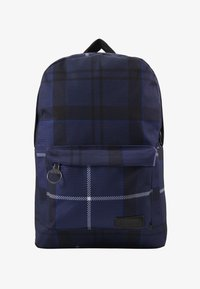 Barbour - TARTAN BACKPACK - Rucksack - ink - 1